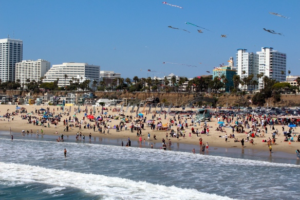View from Santa Monica Pier